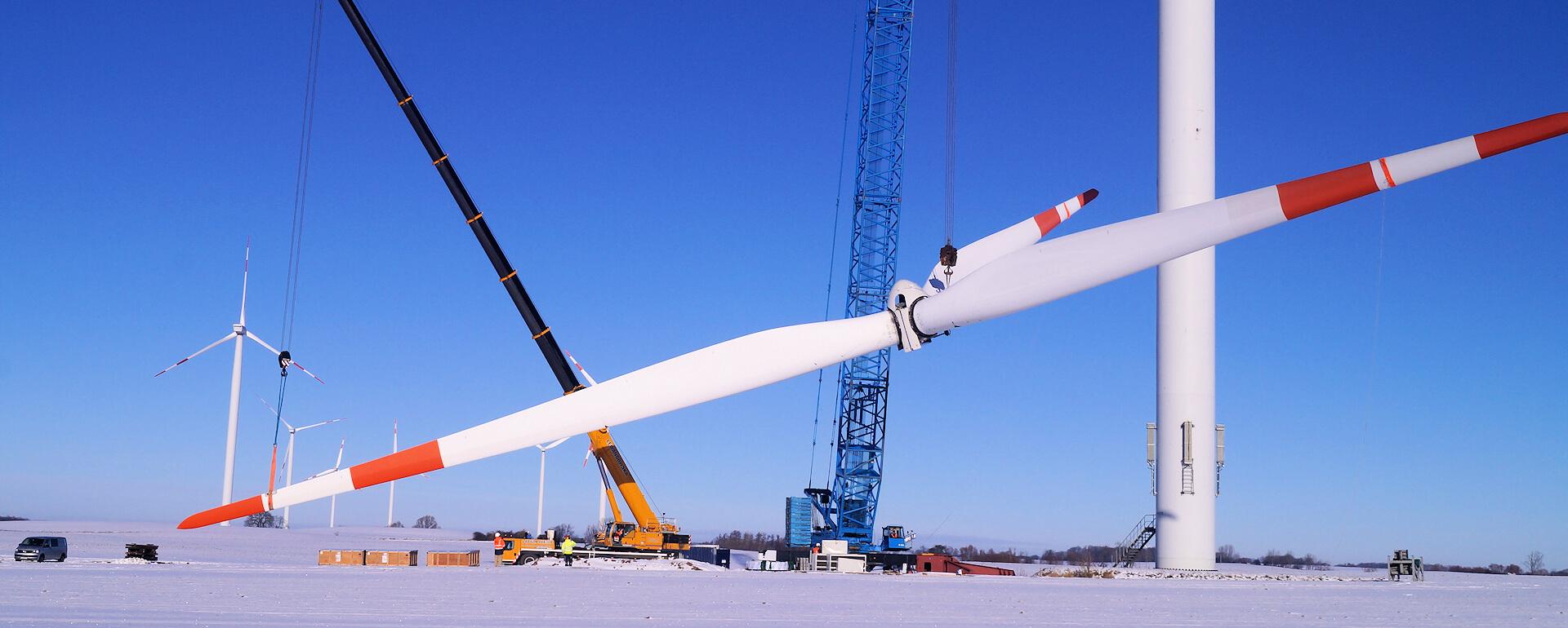 Montaż turbiny