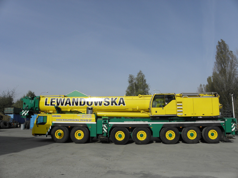 Dźwig samojezdny Lewandowska